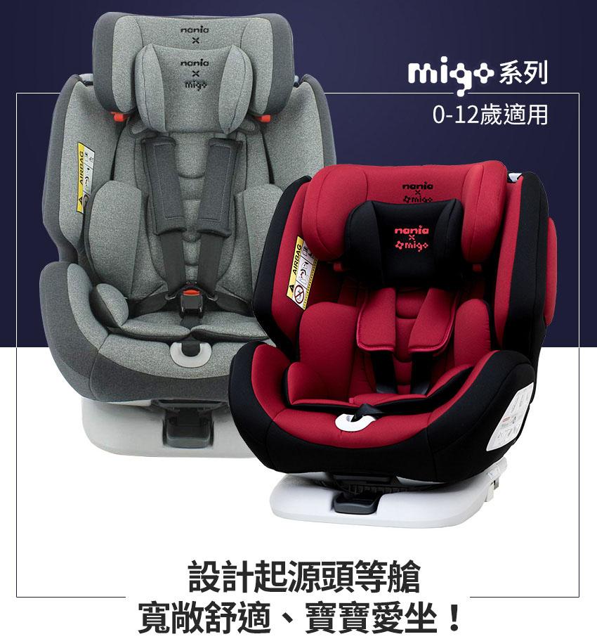 法國Nania納尼亞-汽車安全座椅-Migo-都在LAVIDA育兒好好玩!