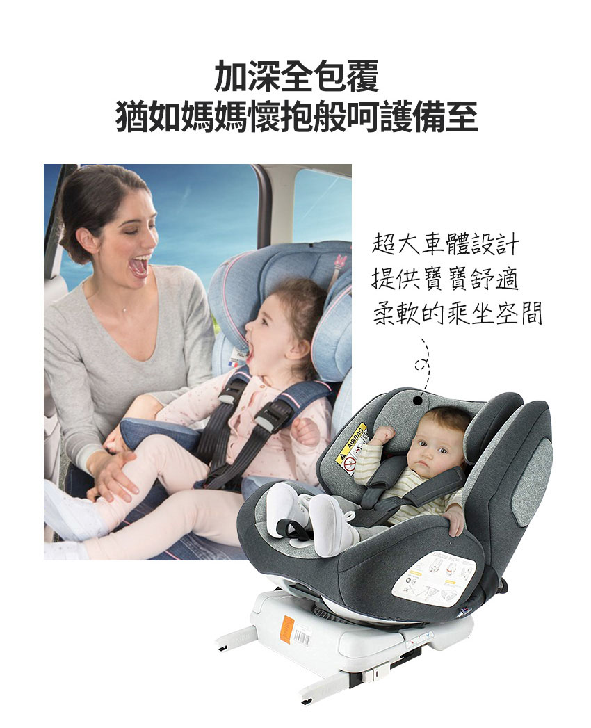 法國Nania納尼亞-汽車安全座椅-Migo-商品特色