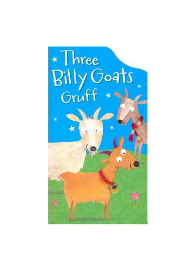 Three Billy Goats Gruff 童話不規則造型書:三隻山羊