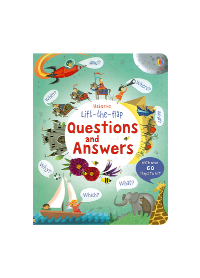 Questions And Answers 生活問答百科翻翻書