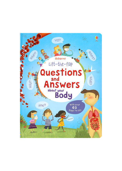 Questions And Answers About Your Body 身體問答百科翻翻書