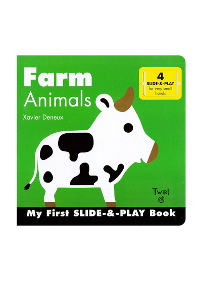 Fram Animals (Slide & Play) 農場動物推推書