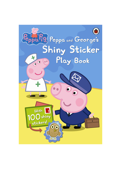 Peppa pig:Peppa and George's Shiny Sticker Play Book 粉紅豬小妹:閃亮貼紙遊戲書