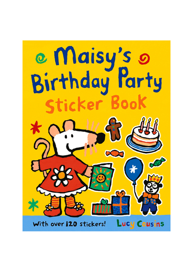Maisy's Birthday Party Sticker Book 波波生日派對 貼紙遊戲書