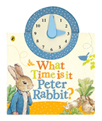 What Time Is It, Peter Rabbit?  彼得兔時鐘書圖片