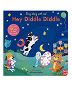 【nosy crow】童謠操作書:Hey Diddle Diddle 圖片