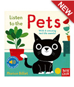 【nosy crow】Listen to the Pets 來聽寵物聲!聲音書圖片