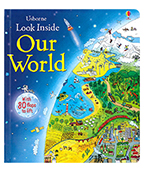 【Usborne】Look Inside Our World 世界百科翻翻書圖片