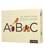 My Favorite Things Flash Cards-ABC基礎認知字卡圖片