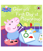 Peppa Pig:Georgrs First Day at Playgroup 粉紅豬小妹:喬治第一天上學圖片