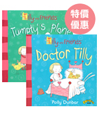 Tilly and Friends 【新】莉莉與好朋友最新兩冊套書*原價440圖片