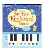 【Usborne】My First Keyboard Book 我的第一本鋼琴書圖片