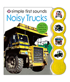 Simple First Sounds: Noisy Trucks 卡車聲音書圖片