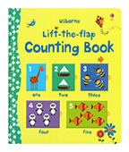 【Usborne】Lift-the-flap Counting Book 翻一翻:數數圖片