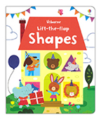 【Usborne】Lift-the-flap Shape 翻一翻:形狀圖片