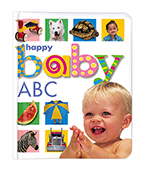Happy Baby Soft to Touch: ABC 快樂寶貝:字母圖片