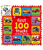 Lift-the-flap: First 100 truck 100卡車翻翻書圖片
