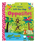 【Usborne】Lift-the-flap Opposites 翻一翻:相反詞圖片