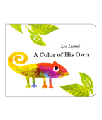 A Color of His Own 屬於自己的顏色 硬頁書圖片