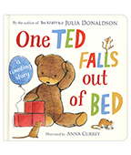 One Ted Falls Out Of Bed 一隻泰迪熊掉下床 硬頁書圖片