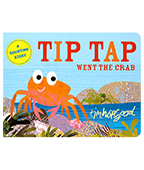 Tip Tap Went the Crab 螃蟹的冒險 硬頁書圖片