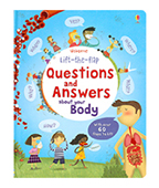 【Usborne】Questions And Answers About Your Body 身體問答百科翻翻書圖片
