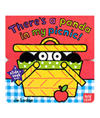 Theres a panda in my picnic! 貓熊在我野餐籃 上下推拉書圖片