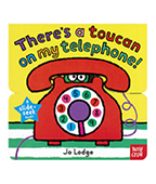 Theres a toucan on my telephone! 大嘴鳥在我電話裡 上下推拉書圖片