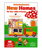 【Twirl】New Homes For Our Little Friends 搬新家大開本磁鐵書圖片