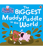 Peppa Pig:The BIGGEST Muddy Puddle in the World 粉紅豬小妹:世界最大的泥巴坑圖片