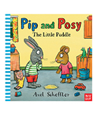 Pip and Posy:The Little Puddle  小水窪 圖片