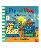 Pip and Posy:The Bedtime Frog Posy的陪睡娃娃圖片