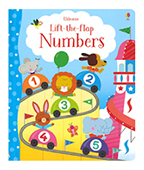 【Usborne】Lift-the-flap Number 翻一翻:數字圖片