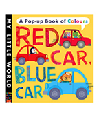 My little World:Red Car,Blue Car 交通顏色立體書圖片