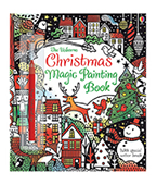 【Usborne】Christmas Magic Painting Book 聖誕神奇魔法塗鴉繪本圖片