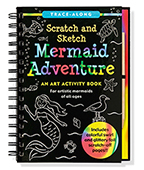 Mermaid Adventure Scratch & Sketch 美人魚 刮畫書圖片