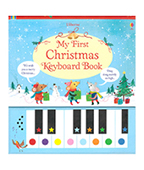 【Usborne】My First Christmas Keyboard Book 我的第一本聖誕鋼琴書圖片