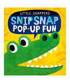 Little Snappers:Snip Snap 鱷魚立體書 圖片