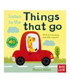 【nosy crow】Listen to the Things That Go 來聽交通聲!聲音書圖片