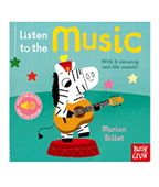 【nosy crow】Listen to the Music 來聽樂器聲!聲音書圖片